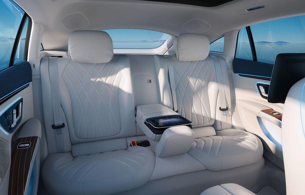 OFICIAL: Noul Mercedes-Benz EQS - limuzina electrică are uși care se deschid singure și 770 de km autonomie - Poza 23