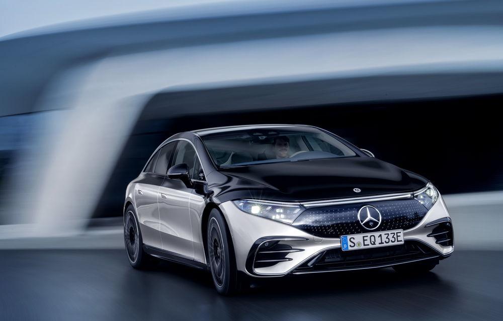 OFICIAL: Noul Mercedes-Benz EQS - limuzina electrică are uși care se deschid singure și 770 de km autonomie - Poza 27