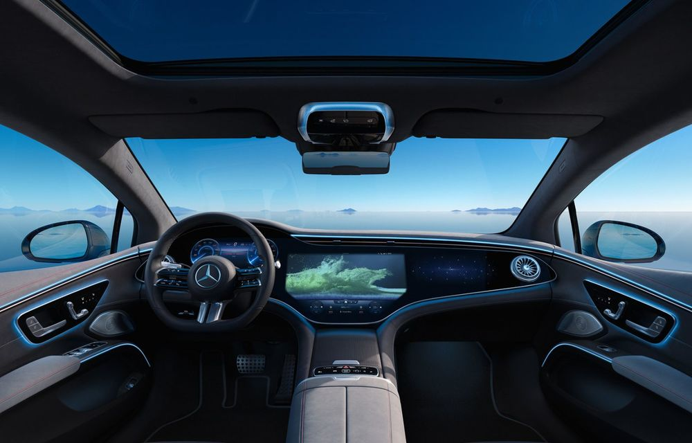 OFICIAL: Noul Mercedes-Benz EQS - limuzina electrică are uși care se deschid singure și 770 de km autonomie - Poza 18