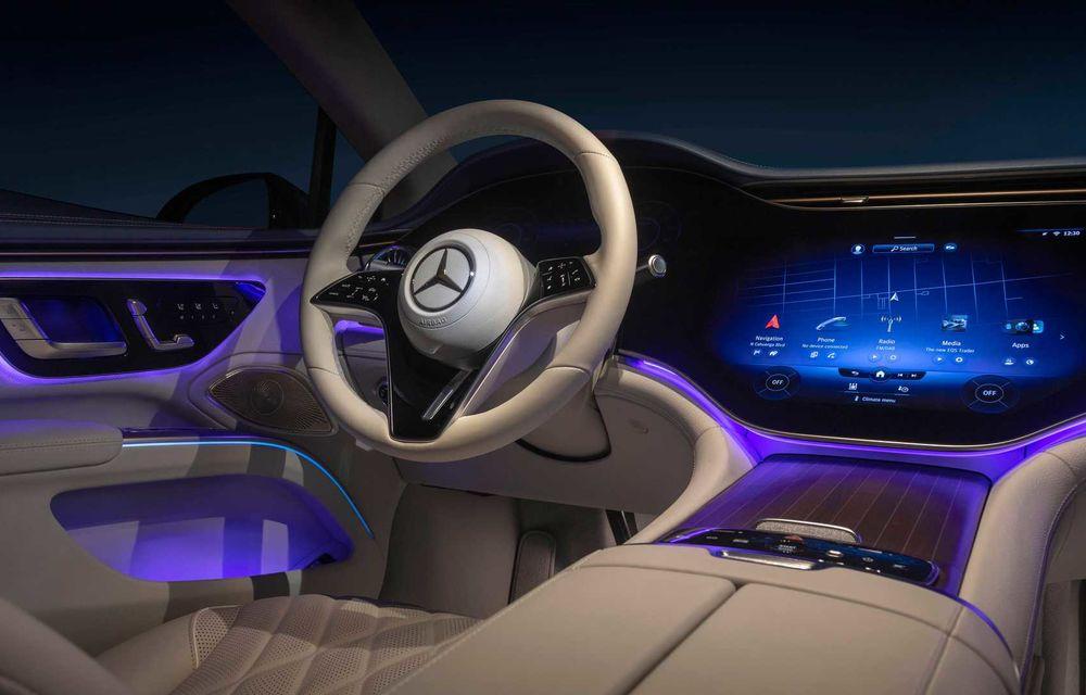 OFICIAL: Noul Mercedes-Benz EQS - limuzina electrică are uși care se deschid singure și 770 de km autonomie - Poza 41