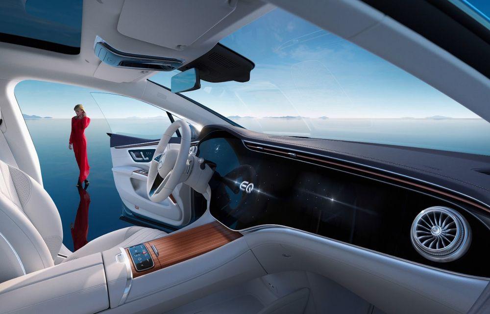 OFICIAL: Noul Mercedes-Benz EQS - limuzina electrică are uși care se deschid singure și 770 de km autonomie - Poza 21