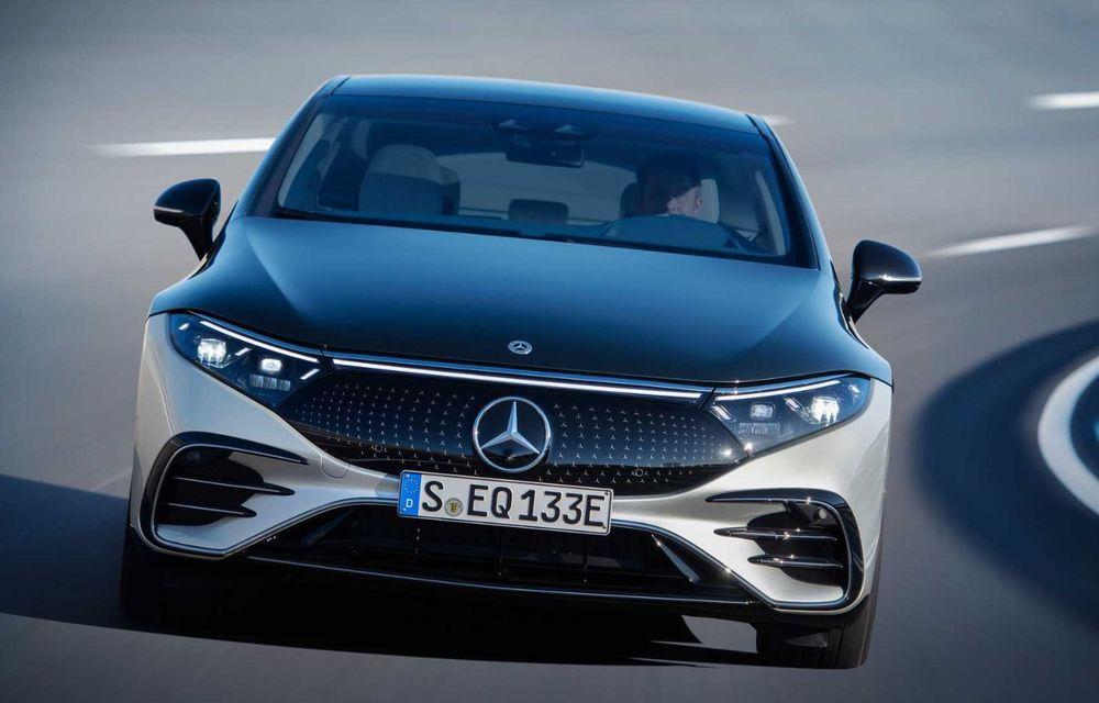 OFICIAL: Noul Mercedes-Benz EQS - limuzina electrică are uși care se deschid singure și 770 de km autonomie - Poza 5