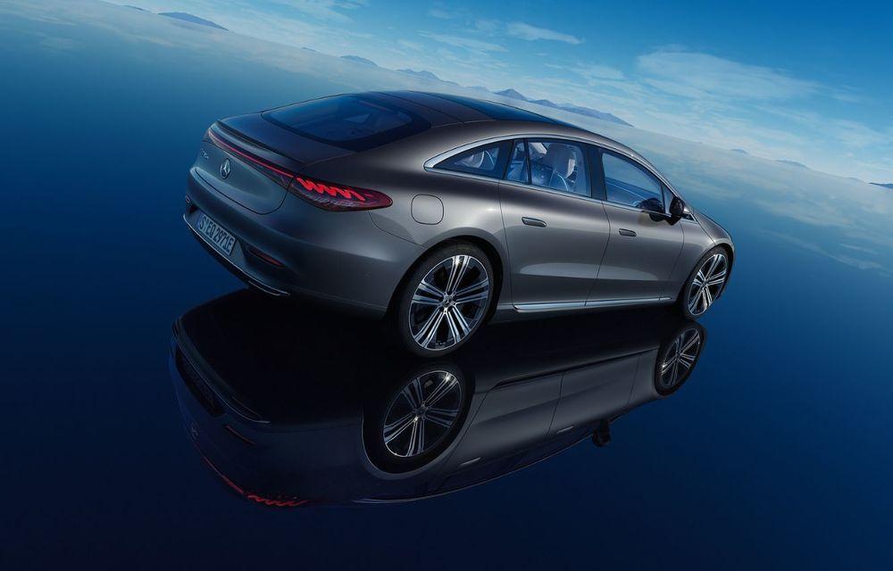 OFICIAL: Noul Mercedes-Benz EQS - limuzina electrică are uși care se deschid singure și 770 de km autonomie - Poza 7