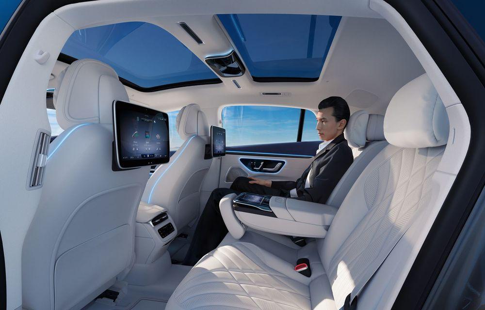 OFICIAL: Noul Mercedes-Benz EQS - limuzina electrică are uși care se deschid singure și 770 de km autonomie - Poza 19