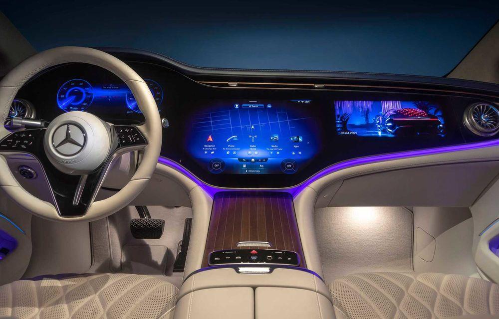 OFICIAL: Noul Mercedes-Benz EQS - limuzina electrică are uși care se deschid singure și 770 de km autonomie - Poza 42