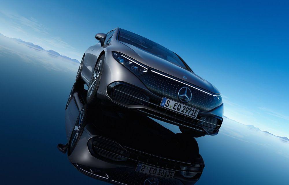 OFICIAL: Noul Mercedes-Benz EQS - limuzina electrică are uși care se deschid singure și 770 de km autonomie - Poza 17