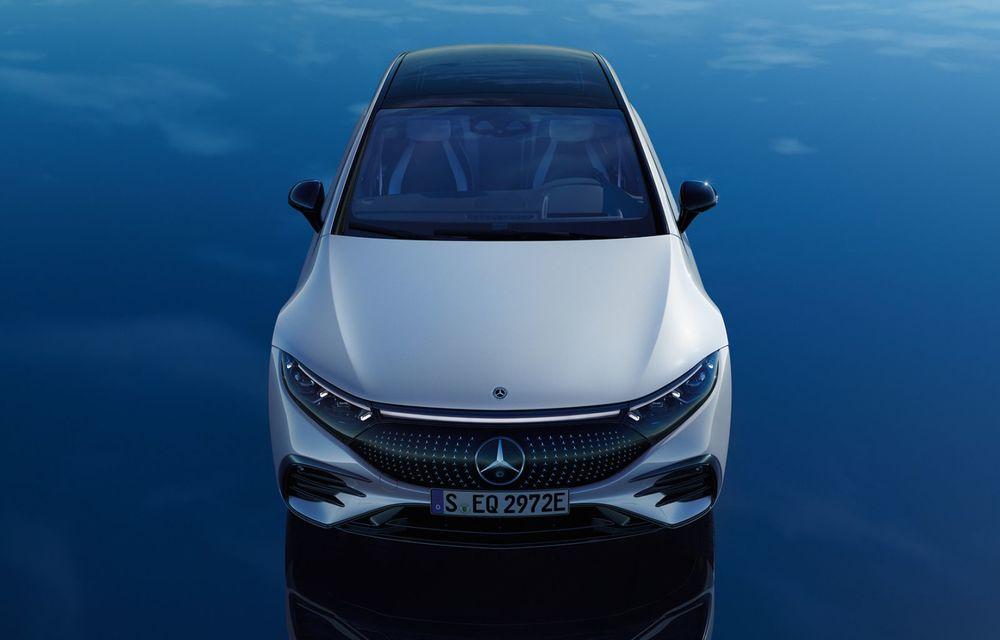 OFICIAL: Noul Mercedes-Benz EQS - limuzina electrică are uși care se deschid singure și 770 de km autonomie - Poza 14