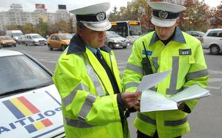 Proiect: Șoferii vor putea afla tot istoricul sancțiunilor rutiere, nu doar numărul punctelor de penalizare