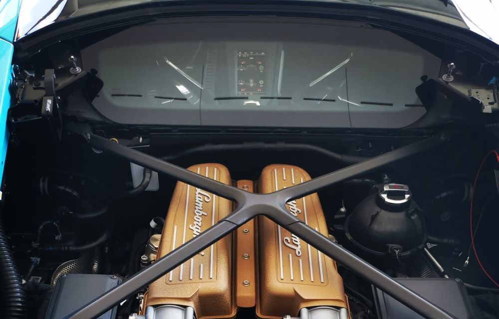 Noul Lamborghini Huracan STO a fost lansat în România: start de la 300.000 de euro - Poza 5
