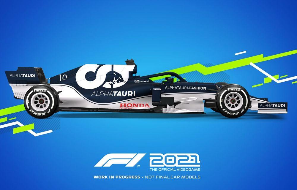 """Jocul F1 2021 a fost lansat oficial cu o nouă poveste și un mod """"Carieră"""" extins - Poza 2"""