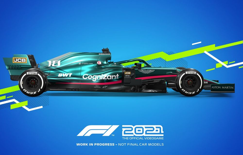 """Jocul F1 2021 a fost lansat oficial cu o nouă poveste și un mod """"Carieră"""" extins - Poza 1"""