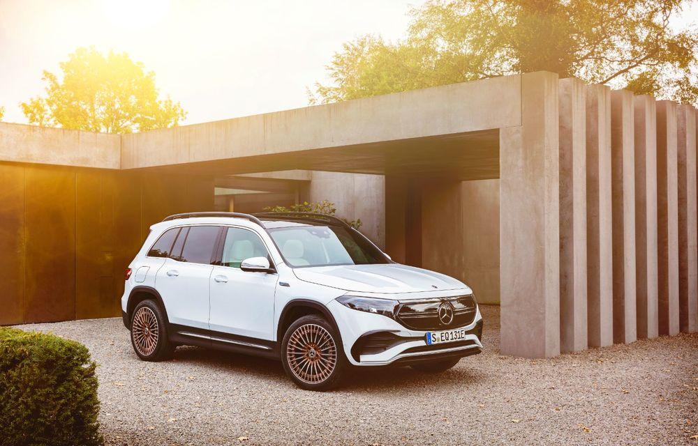 Noul Mercedes-Benz EQB: omologul electric al lui GLB are autonomie de 419 kilometri - Poza 19