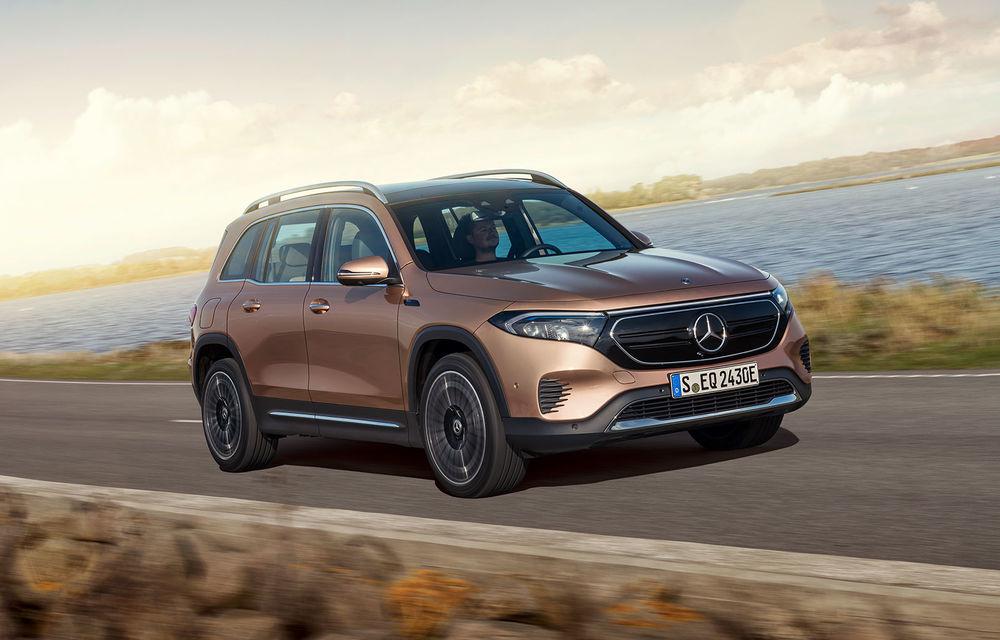 Noul Mercedes-Benz EQB: omologul electric al lui GLB are autonomie de 419 kilometri - Poza 10