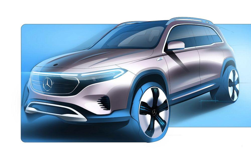 Noul Mercedes-Benz EQB: omologul electric al lui GLB are autonomie de 419 kilometri - Poza 22