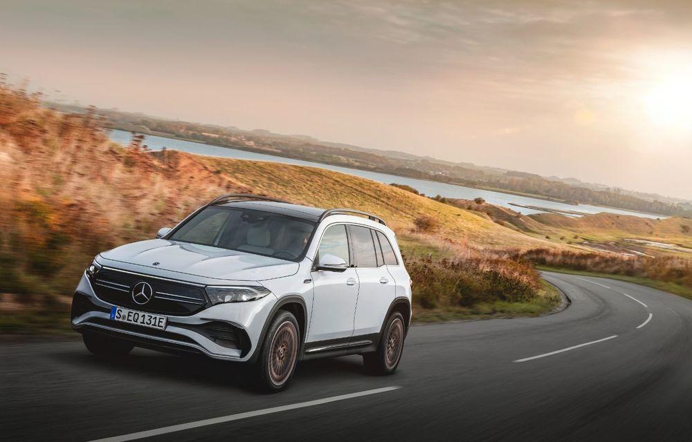 Noul Mercedes-Benz EQB: omologul electric al lui GLB are autonomie de 419 kilometri - Poza 7