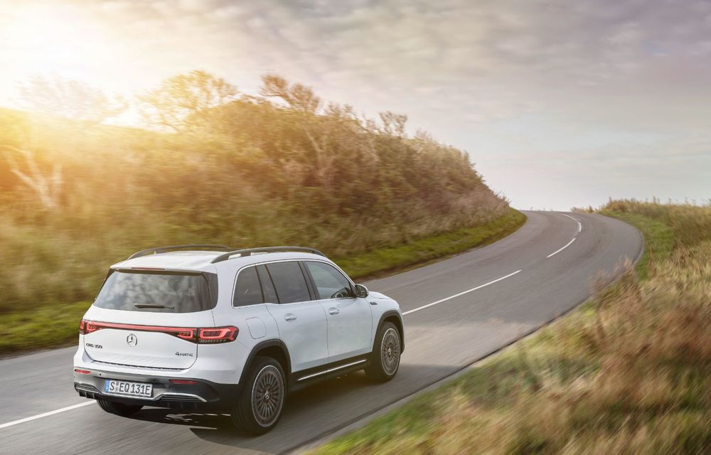 Noul Mercedes-Benz EQB: omologul electric al lui GLB are autonomie de 419 kilometri - Poza 2