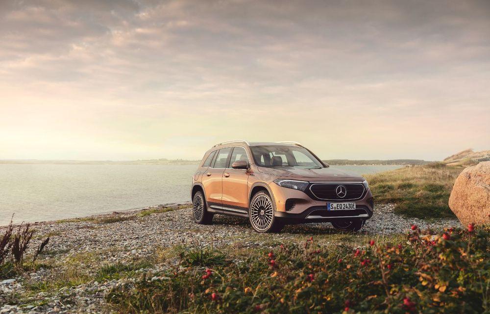 Noul Mercedes-Benz EQB: omologul electric al lui GLB are autonomie de 419 kilometri - Poza 11