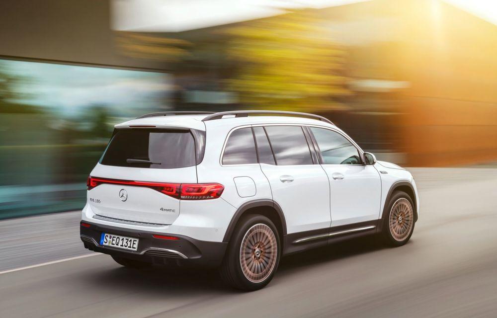 Noul Mercedes-Benz EQB: omologul electric al lui GLB are autonomie de 419 kilometri - Poza 6