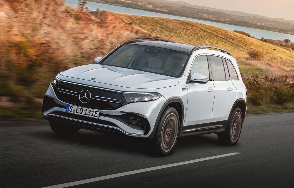Noul Mercedes-Benz EQB: omologul electric al lui GLB are autonomie de 419 kilometri - Poza 1