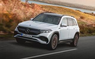 Noul Mercedes-Benz EQB: omologul electric al lui GLB are autonomie de 419 kilometri
