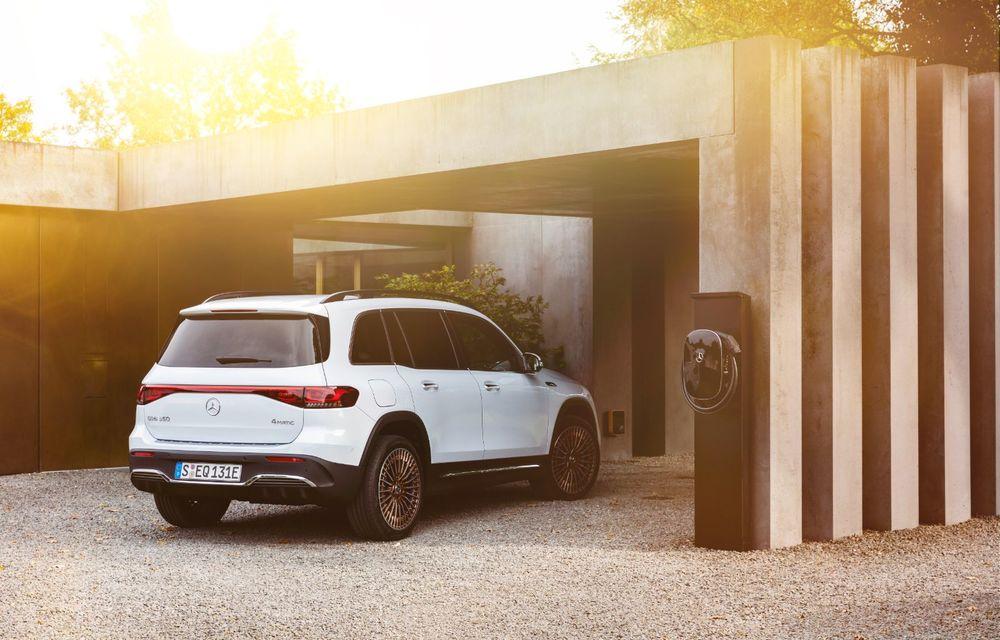 Noul Mercedes-Benz EQB: omologul electric al lui GLB are autonomie de 419 kilometri - Poza 20