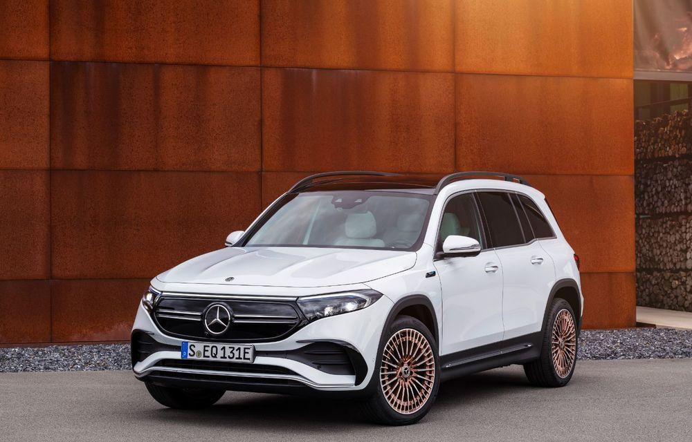 Noul Mercedes-Benz EQB: omologul electric al lui GLB are autonomie de 419 kilometri - Poza 3