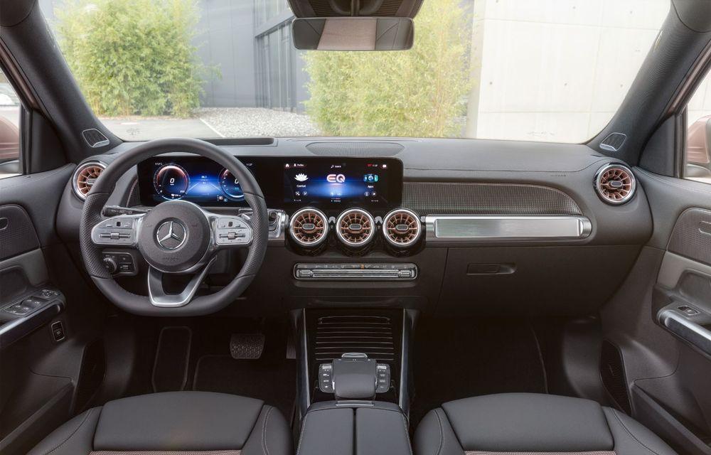 Noul Mercedes-Benz EQB: omologul electric al lui GLB are autonomie de 419 kilometri - Poza 16