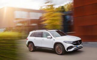Mercedes-Benz EQB: SUV compact cu zero emisii și autonomie de 419 kilometri