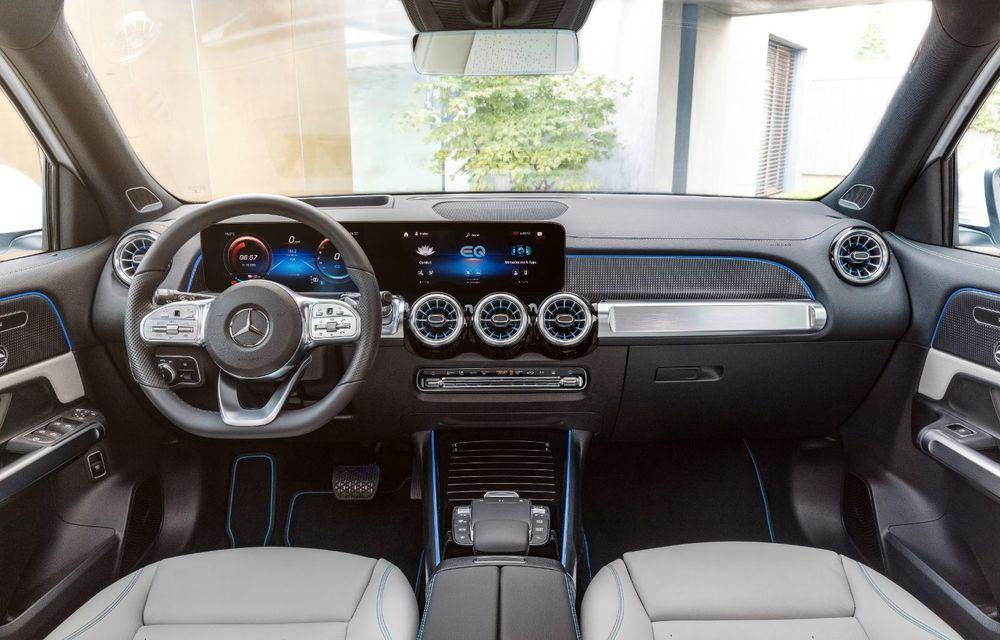 Noul Mercedes-Benz EQB: omologul electric al lui GLB are autonomie de 419 kilometri - Poza 8