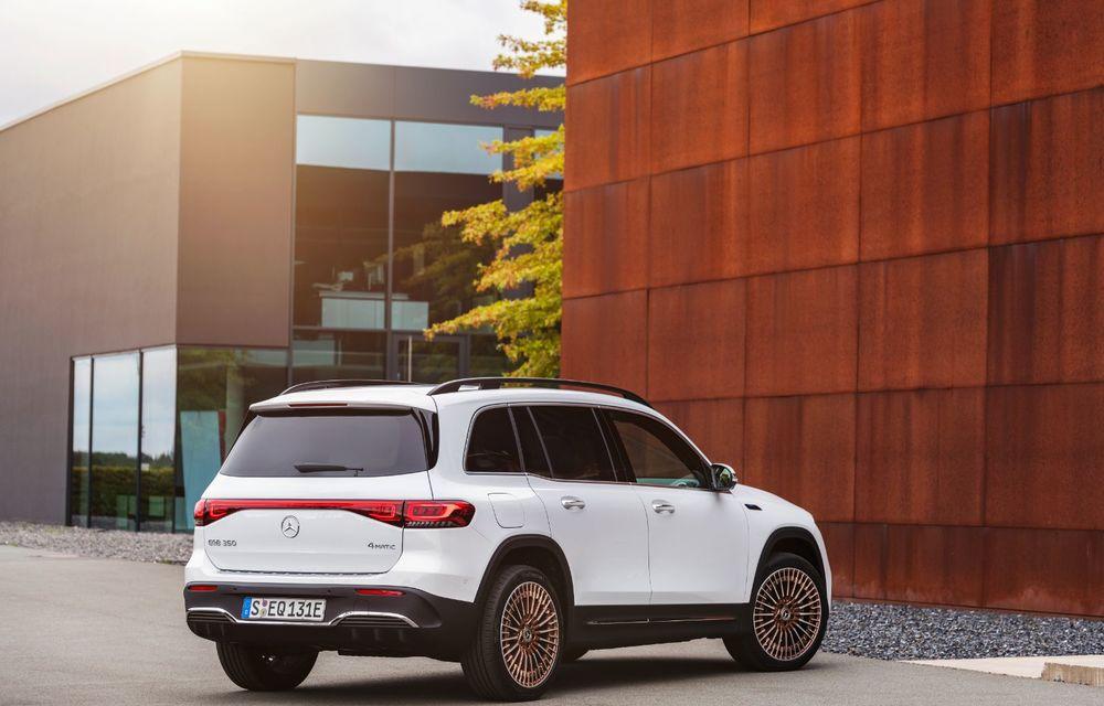 Noul Mercedes-Benz EQB: omologul electric al lui GLB are autonomie de 419 kilometri - Poza 5