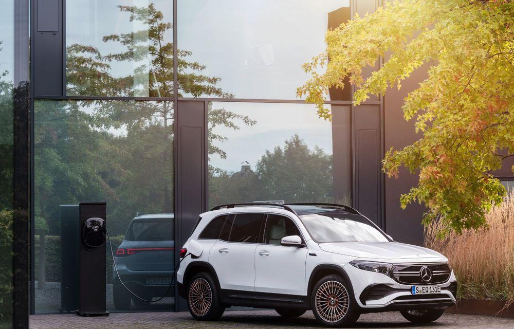 Noul Mercedes-Benz EQB: omologul electric al lui GLB are autonomie de 419 kilometri - Poza 18