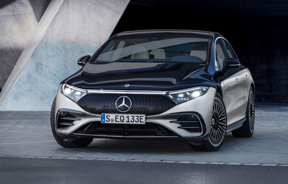 Șeful Daimler: Mercedes-Benz EQS nu are camere video în loc de oglinzi pentru a evita răul de mișcare - Poza 1