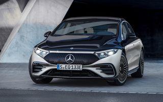 Șeful Daimler: Mercedes-Benz EQS nu are camere video în loc de oglinzi pentru a evita răul de mișcare