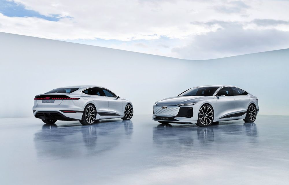 Audi prezintă conceptul electric A6 e-tron: autonomie de peste 700 de kilometri și încărcare rapidă la 270 kW - Poza 27