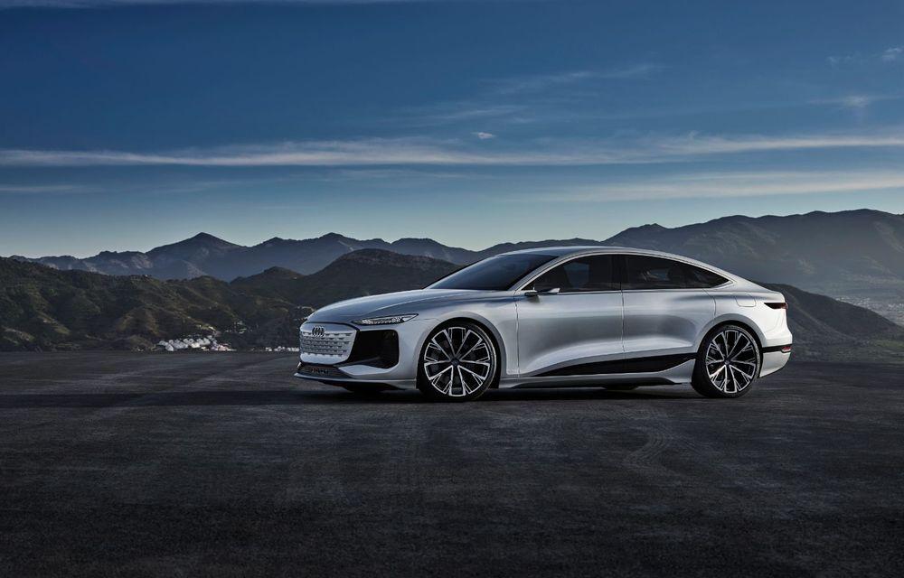 Audi prezintă conceptul electric A6 e-tron: autonomie de peste 700 de kilometri și încărcare rapidă la 270 kW - Poza 9