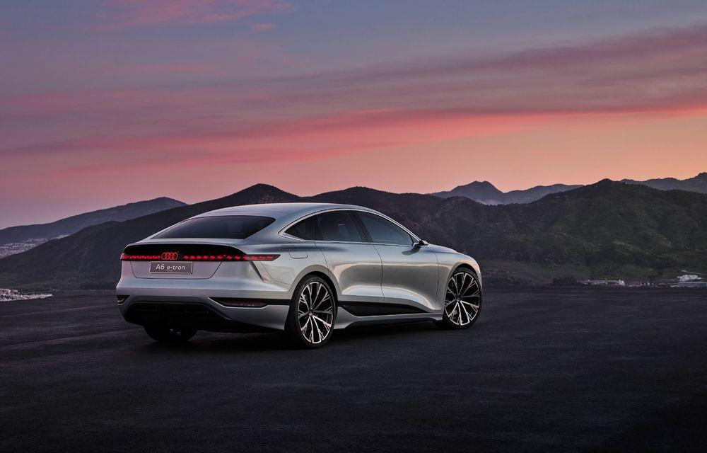 Audi prezintă conceptul electric A6 e-tron: autonomie de peste 700 de kilometri și încărcare rapidă la 270 kW - Poza 13