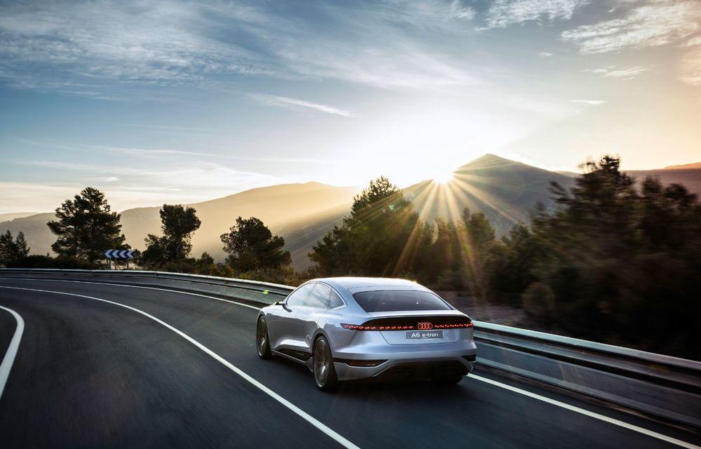 Audi prezintă conceptul electric A6 e-tron: autonomie de peste 700 de kilometri și încărcare rapidă la 270 kW - Poza 4