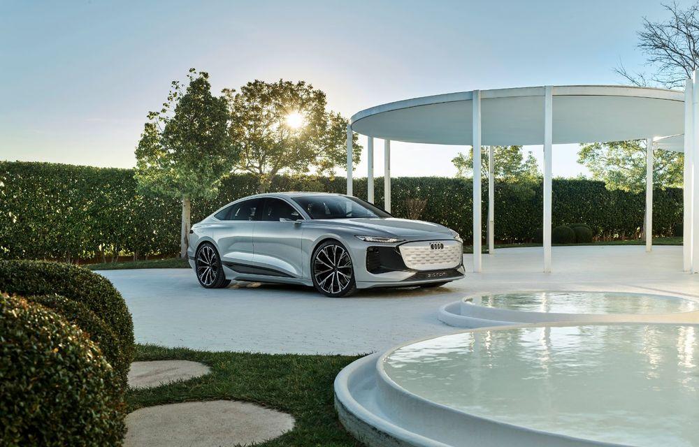 Audi prezintă conceptul electric A6 e-tron: autonomie de peste 700 de kilometri și încărcare rapidă la 270 kW - Poza 44
