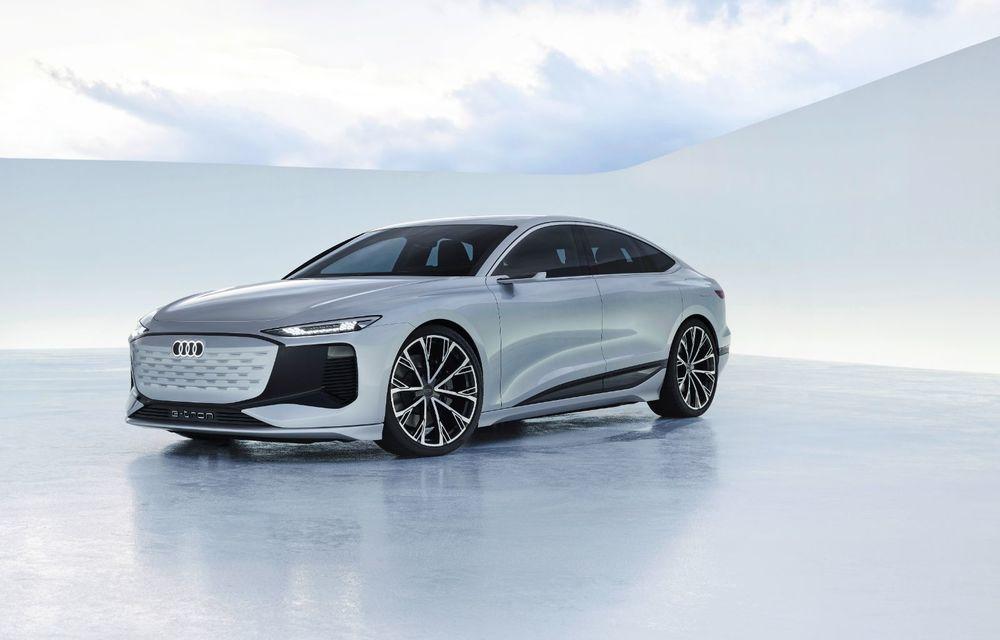 Audi prezintă conceptul electric A6 e-tron: autonomie de peste 700 de kilometri și încărcare rapidă la 270 kW - Poza 29