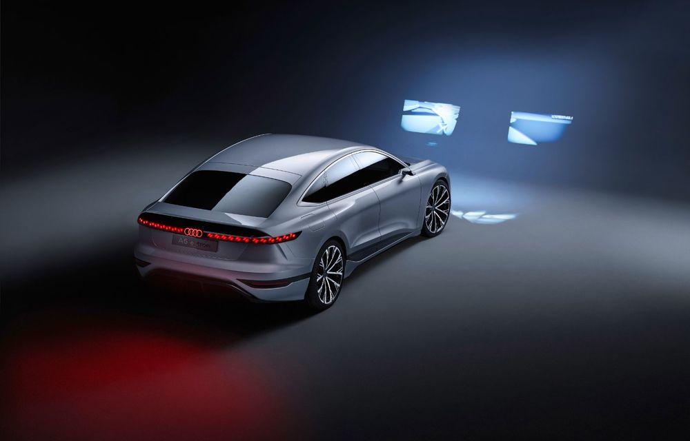 Audi prezintă conceptul electric A6 e-tron: autonomie de peste 700 de kilometri și încărcare rapidă la 270 kW - Poza 20