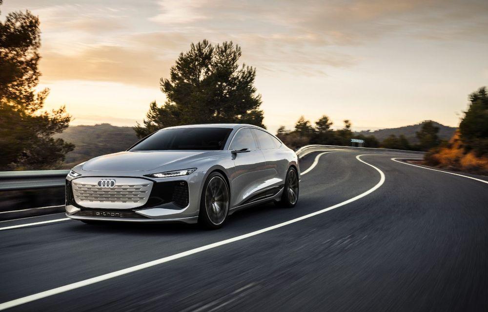 Audi prezintă conceptul electric A6 e-tron: autonomie de peste 700 de kilometri și încărcare rapidă la 270 kW - Poza 2