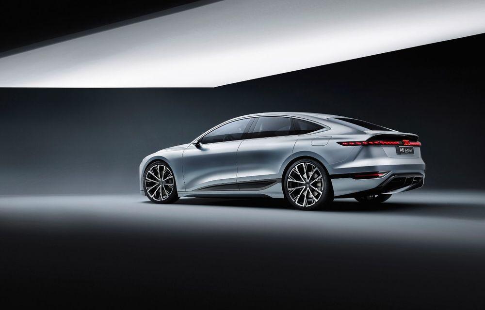 Audi prezintă conceptul electric A6 e-tron: autonomie de peste 700 de kilometri și încărcare rapidă la 270 kW - Poza 14