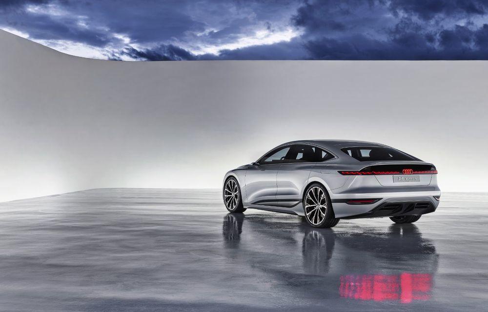 Audi prezintă conceptul electric A6 e-tron: autonomie de peste 700 de kilometri și încărcare rapidă la 270 kW - Poza 17