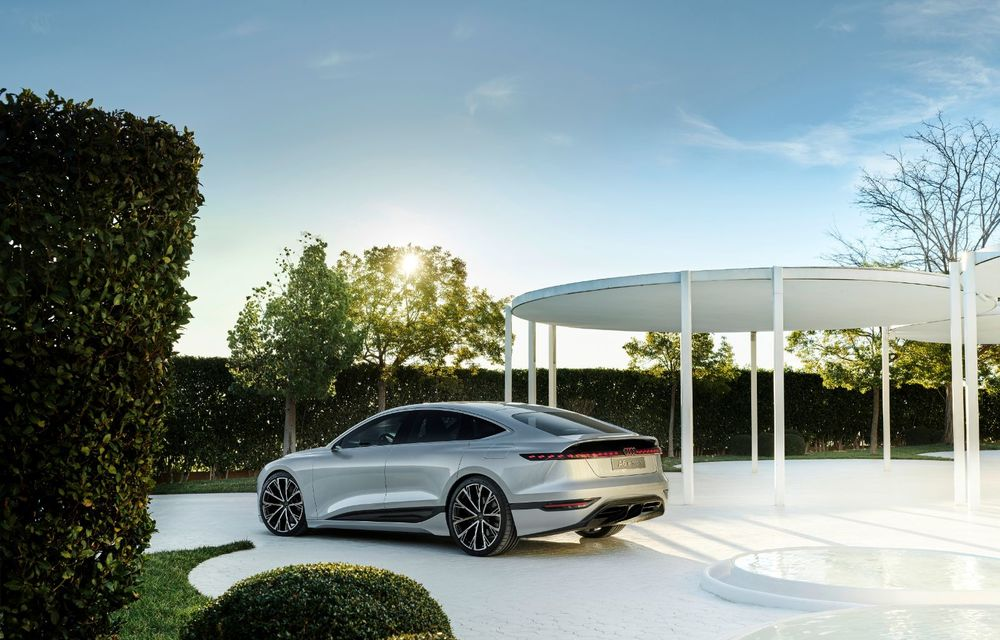 Audi prezintă conceptul electric A6 e-tron: autonomie de peste 700 de kilometri și încărcare rapidă la 270 kW - Poza 45