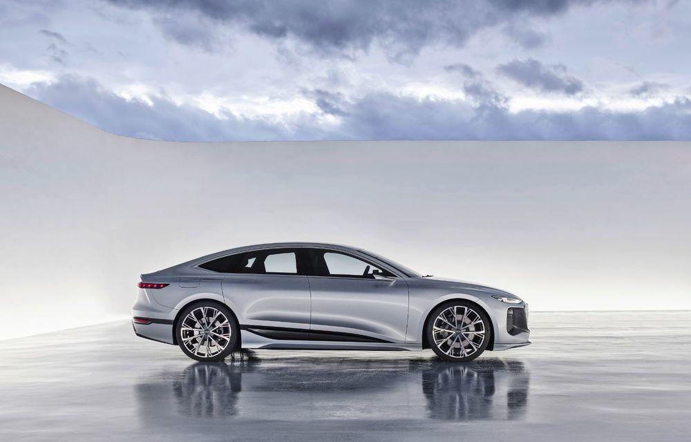 Audi prezintă conceptul electric A6 e-tron: autonomie de peste 700 de kilometri și încărcare rapidă la 270 kW - Poza 31