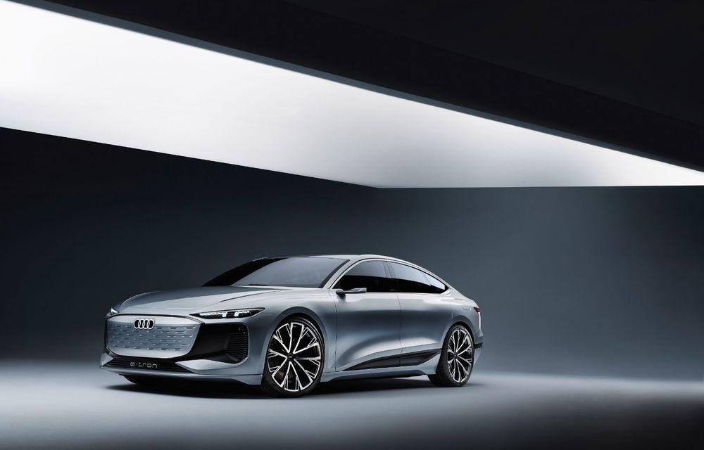Audi prezintă conceptul electric A6 e-tron: autonomie de peste 700 de kilometri și încărcare rapidă la 270 kW - Poza 16