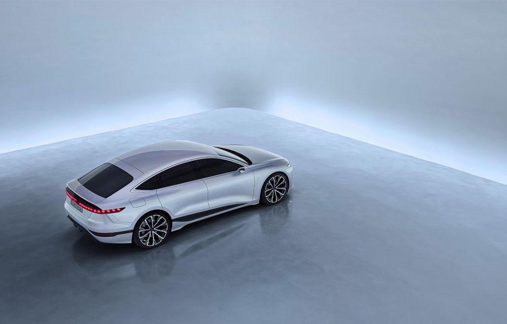 Audi prezintă conceptul electric A6 e-tron: autonomie de peste 700 de kilometri și încărcare rapidă la 270 kW - Poza 25