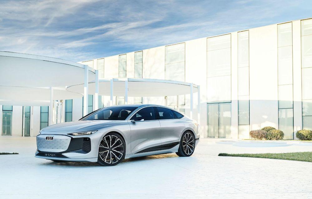 Audi prezintă conceptul electric A6 e-tron: autonomie de peste 700 de kilometri și încărcare rapidă la 270 kW - Poza 43