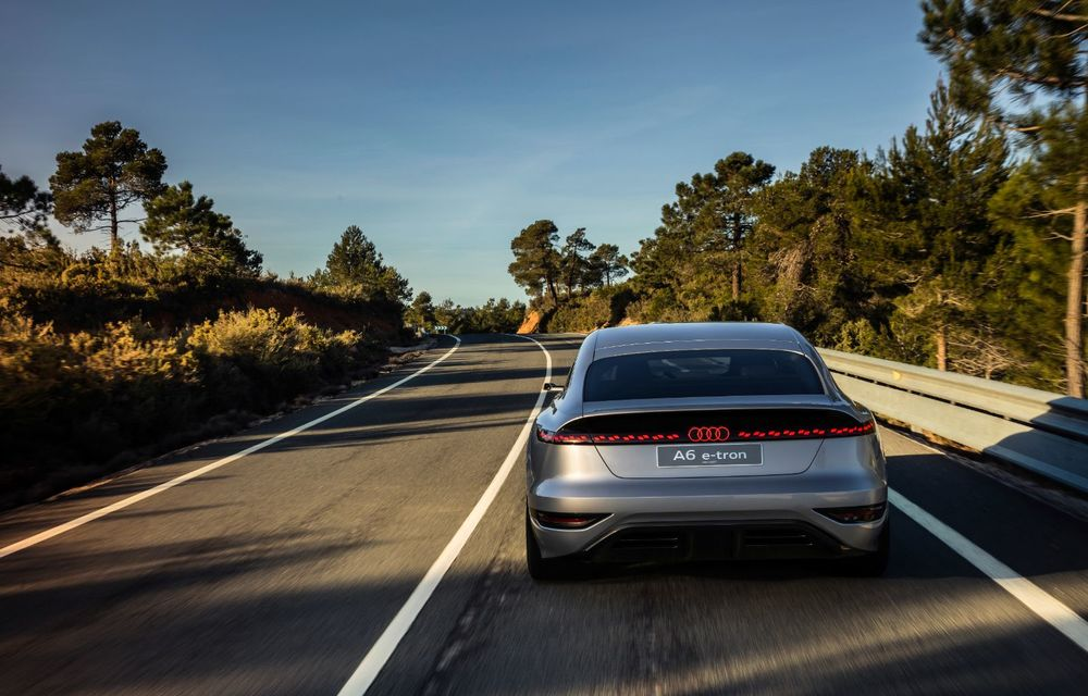 Audi prezintă conceptul electric A6 e-tron: autonomie de peste 700 de kilometri și încărcare rapidă la 270 kW - Poza 5