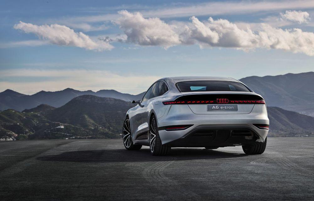Audi prezintă conceptul electric A6 e-tron: autonomie de peste 700 de kilometri și încărcare rapidă la 270 kW - Poza 8